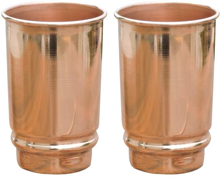 Modern Copper cups for a chic and simple table setting.jpg
