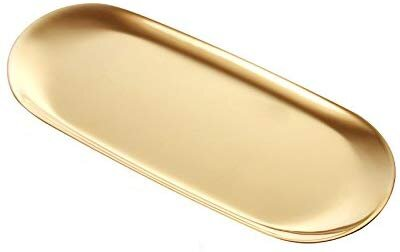 decorative oval brass gold platter for a centerpiece for your holiday thanksgiving table setting.jpg