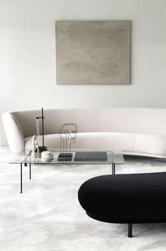 Curved sofas and benches - Top 2019 interior design trends for your home