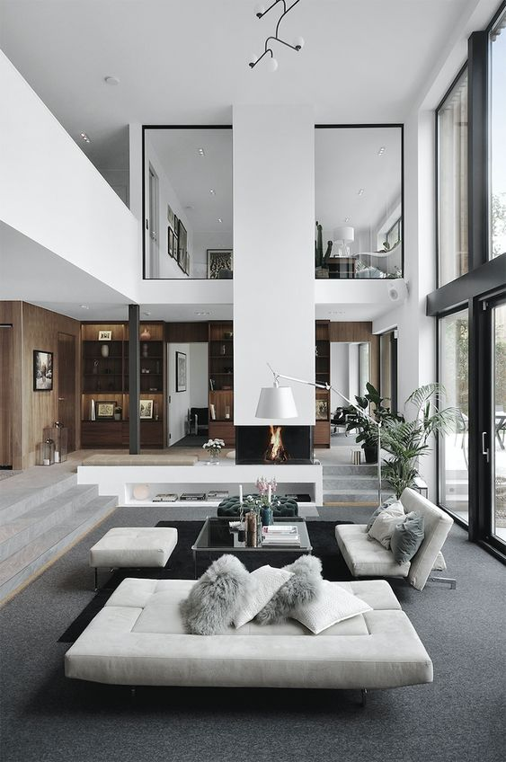 5 Furniture Layout Ideas For A Large, Large Living Room Ideas