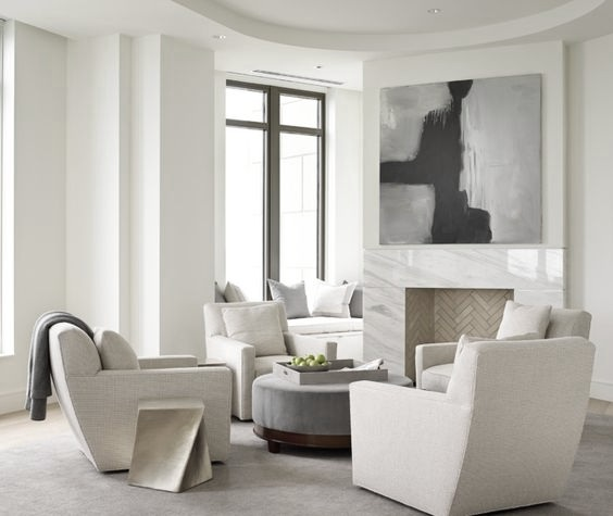 Savvy Favorites: Swivel Accent Chairs For A Modern Living Room