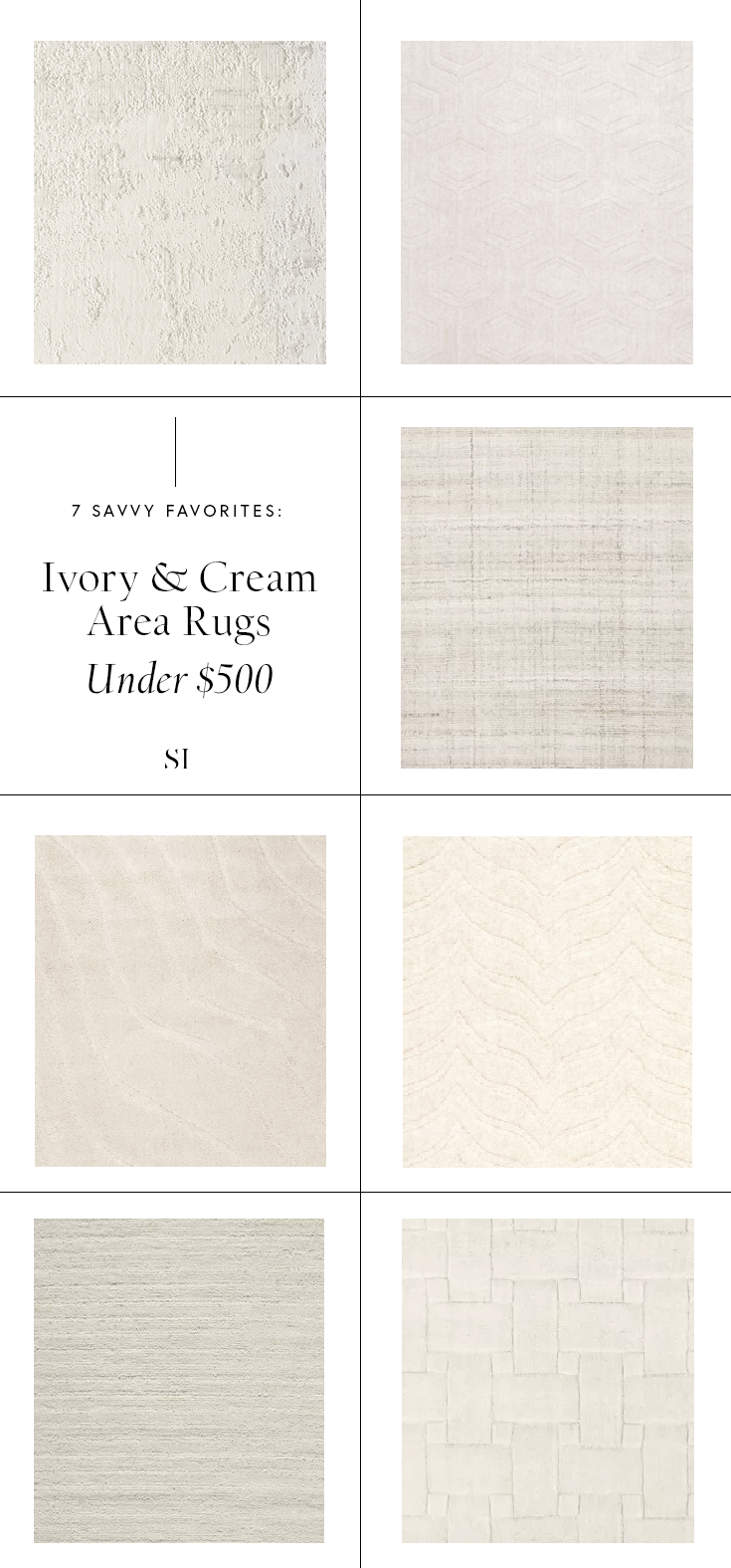 Textured and Minimal White Cream and Ivory Area Rugs under $500.png