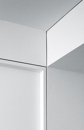 New Modern FLush recessed molding also called reveal trim by the savvy heart.jpg