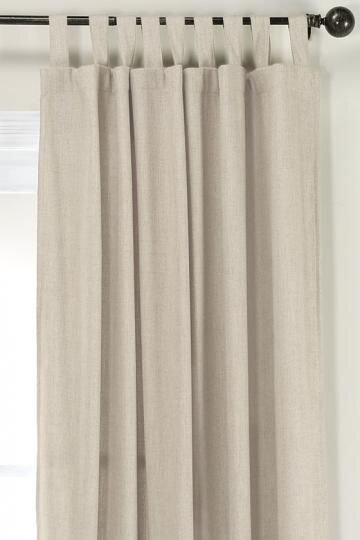 Beige tap top curtains - types and styles of different curtains and drapes by the savvy heart interior design studio and blog.jpg