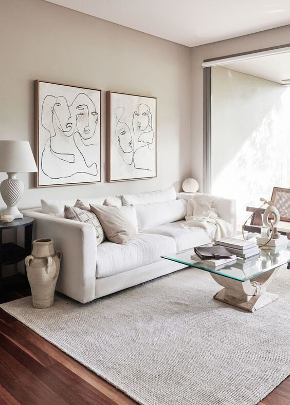 Essential tips for mixing whites and creams in interior design - The savvy heart interior design studio and blog  by Terra Link in Seatte.jpg
