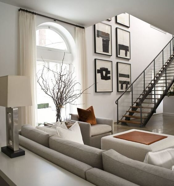 4 Floor Plans Furniture Layout Ideas For A Long Narrow Living Room The Savvy Heart Interior Design Décor And Diy