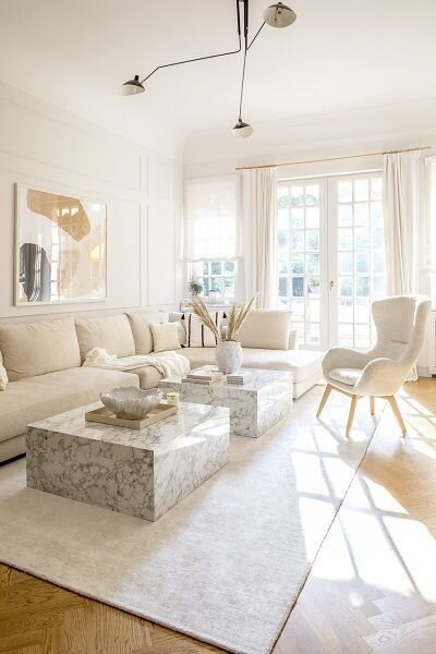 Tips for combining white and cream in a living room or bedroom by the savvy heart interior design studio - modern and contemporary design.jpg