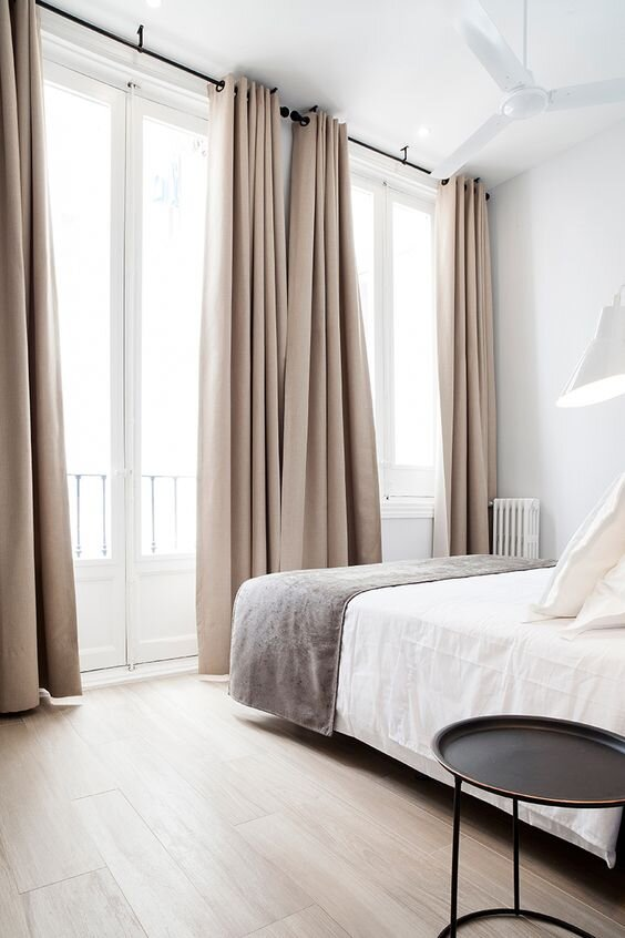 Types of curtains - grommet top - when to use it and the pros and cons of each drapery style.jpg