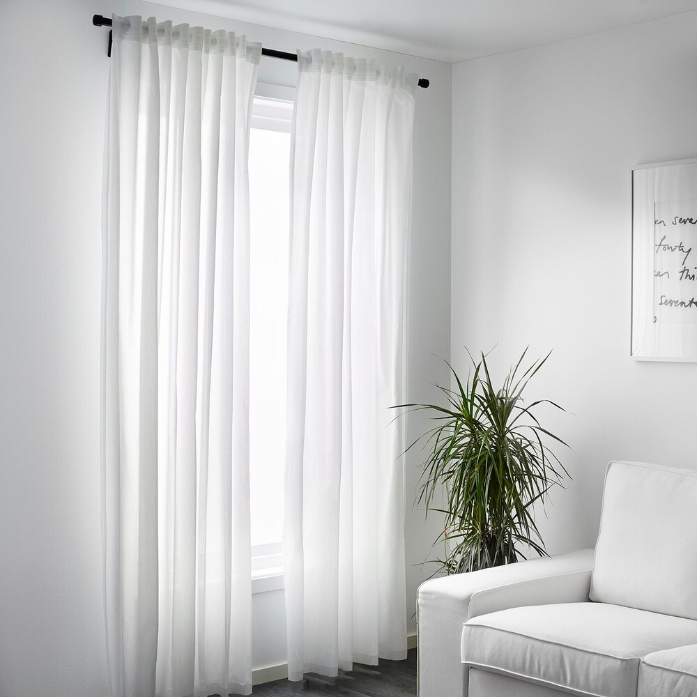 beige rod pocket curtains - different styles and types of drapery and curtains.jpg