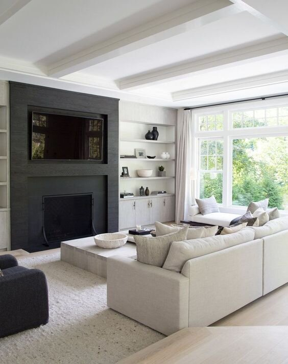 Monochromatic living room - best designer picks and top rated sofas for a modern living room by the savvy heart.jpg