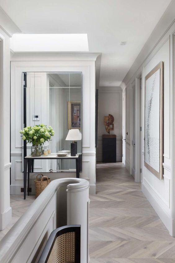 Luxury contemporary entryway - The difference between console, sofa, and end tables - by the savvy heart.jpg