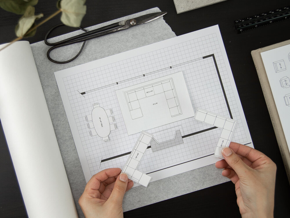 Savvy Room Planner - Printable Space Planning Kit With 200+ Scaled Furniture Pieces