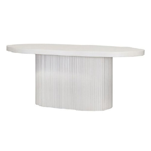 Oval-fluted-concrete-dining-table-for-outdoor-patios-and-living-spaces