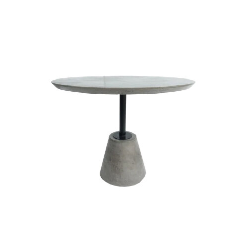 Modern Round Concrete Dining Table under $1000 - top rated contemporary tables