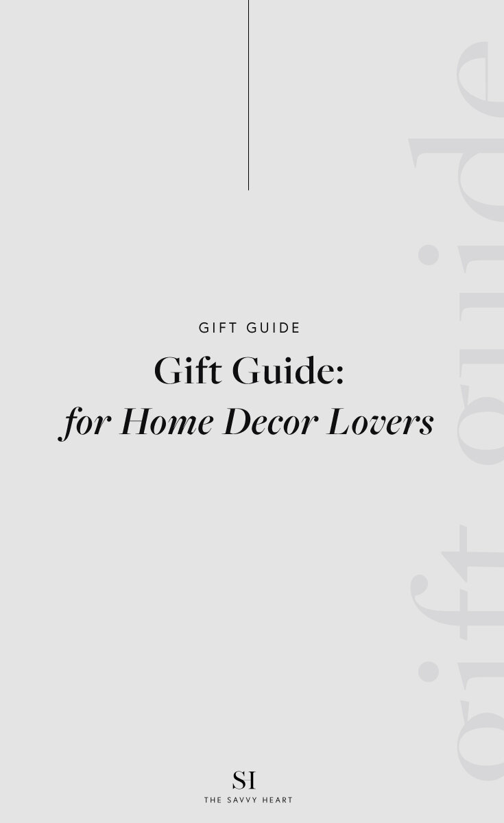 Unique Gift Ideas For The Home Decor Lover