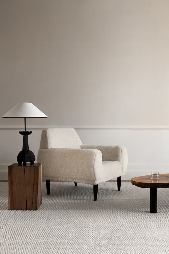 Contemporary tapered coolie style table lamp - timeless or trendy interior design styles by the savvy heart