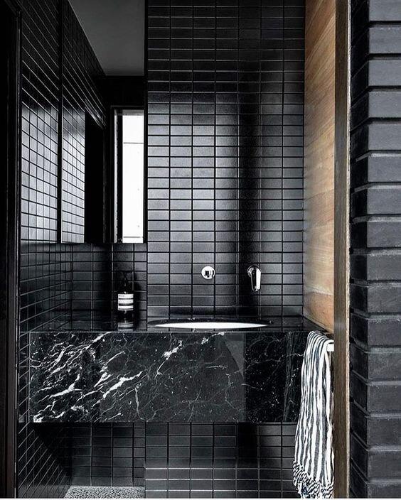 5 modern marble floating vanities - Chic contemporary bathrooms - the savvy heart interior design studio.jpg