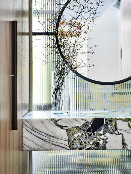 modern and contemporary Green floating marble vanity-&-Sink.jpg